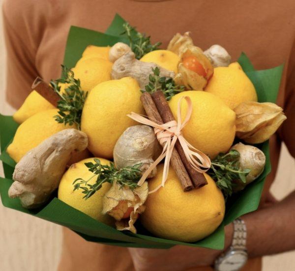 """Букет из лимонов """"Лимонадный Джо"""""""