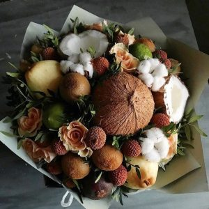 Фруктовый букет с кокосом — Акции и скидки