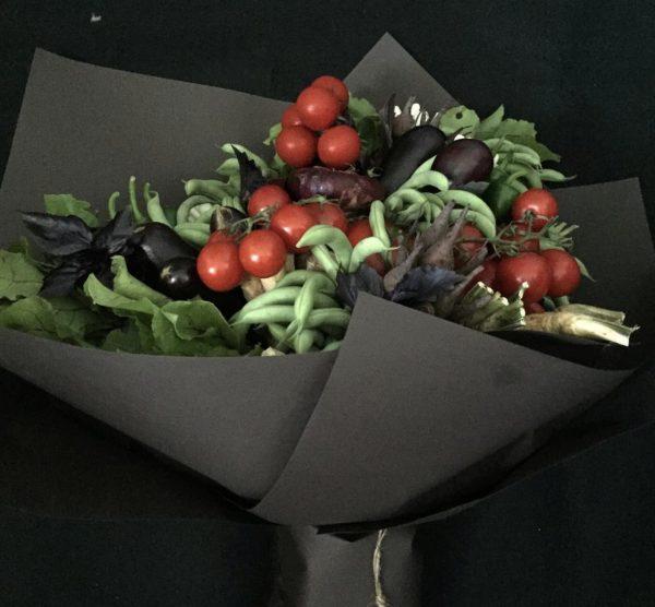 Овощной арт-букет «Прованс» — Букеты из овощей