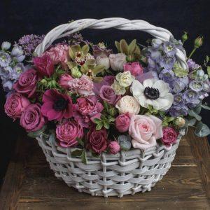 "Корзина с цветами ""Монпелье"""