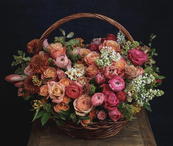 "Корзина с цветами ""Реймс"""
