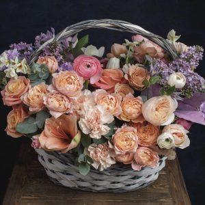 "Корзина с цветами ""Авиньон"""