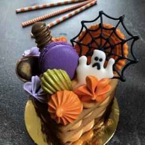 Мини-торт пирожное на хэллоуин