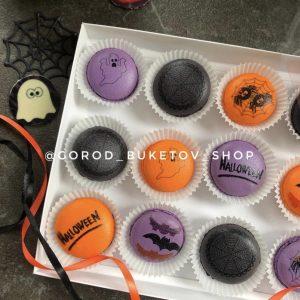 Набор макаронс на Хэллоуин
