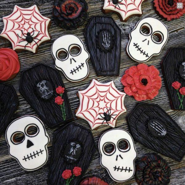 Пряники микс на Хэллоуин — Кондитерские изделия