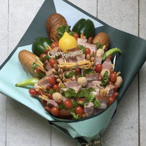 Букет из мяса и овощей