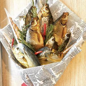 Небольшой букет из рыбы