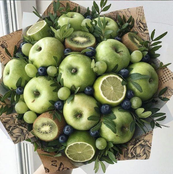 Букет из яблок и киви — Акции и скидки