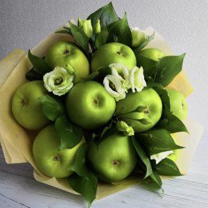 Букет из зеленых яблок