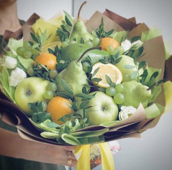 Букет из яблок и лимонов — Акции и скидки