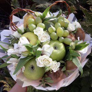 Букет из яблок и винограда — Акции и скидки