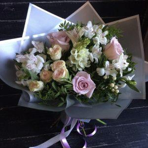 Красивый букет для любимой — Альстромерии