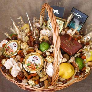 Чайная корзина «Агафья» — Корзины с фруктами