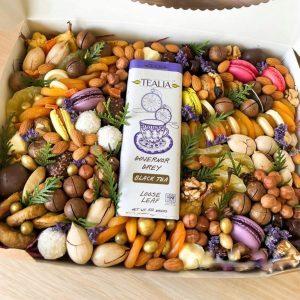 Набор из сухофруктов и орехов «Доха» — Букеты с чаем и кофе