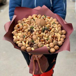 Букет из орехов «Аравия» — Мужские букеты