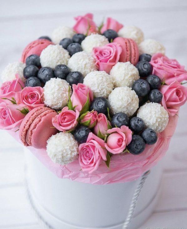 Коробка со сладостями «Пинк» — Композиции
