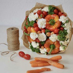 Овощной букет «Милан» — Акции и скидки