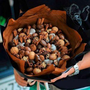 Пряный букет с корицей — Орехи и сухофрукты
