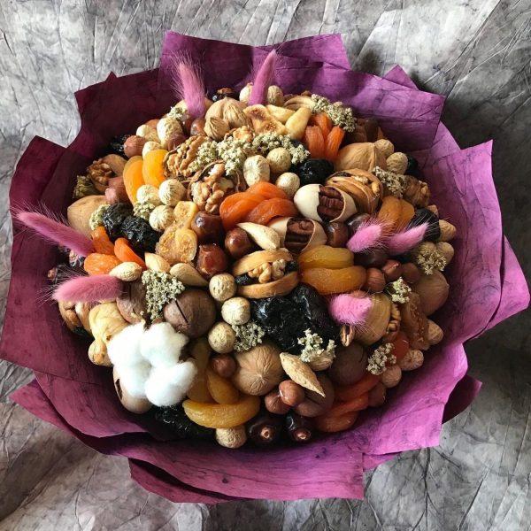 Букет из сухофруктов и орехов «Дакка» — Акции и скидки