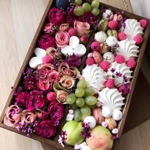 Ящик со сладостями «Создание» — Детские букеты