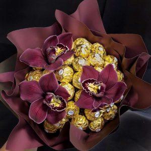 Букет из орхидей «Сладость» — Орхидеи
