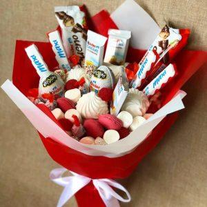 Букет со сладостями «Радуга» — Детские букеты
