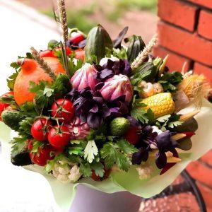 Коробка с овощами в подарок! — Акции и скидки