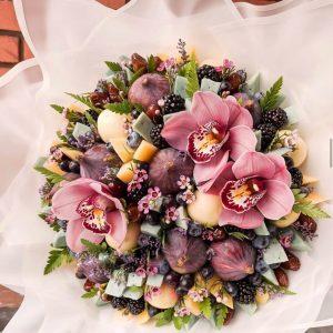 Сырный букет «Дижон» — Орхидеи