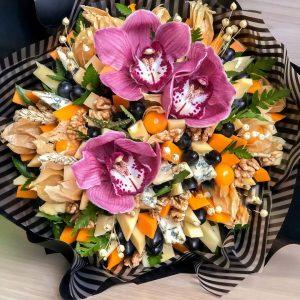 Сырный букет «Клермон» — Орхидеи