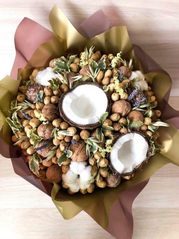 Букет из орехов «Греция» — Мужские букеты