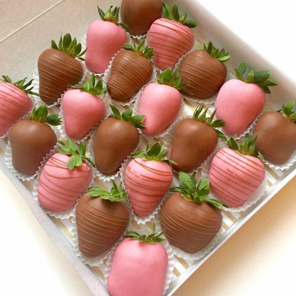 Набор клубники «Пинки» — Клубника в шоколаде
