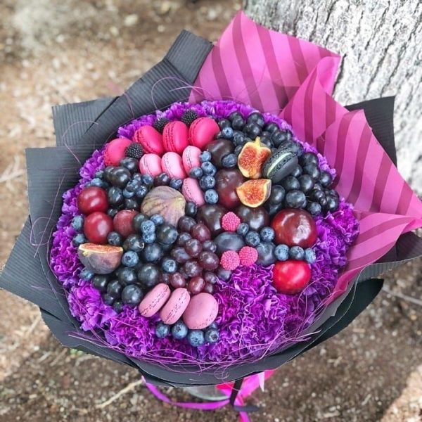 Букет «Фиолетовый» — Съедобные букеты