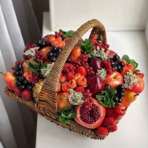 Корзина с фруктами «Паттайя» — Акции и скидки