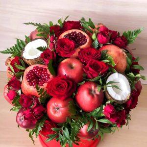 Яблочный сад в шляпной коробке — Композиции