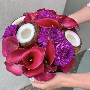Букет «Пурпурное лето» — Букеты цветов