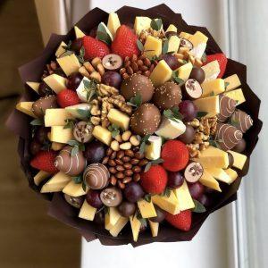 Букет «Вояж» — Клубника в шоколаде