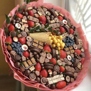 Сладкий букет из конфет «Топ» — Детские букеты