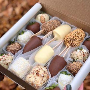 Фрукты в шоколаде «Фокус» — Акции и скидки