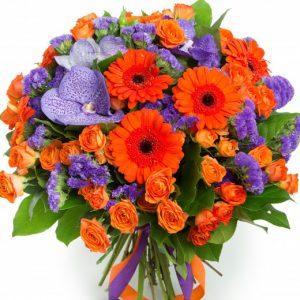 Букет «Сангрия» — Букеты цветов