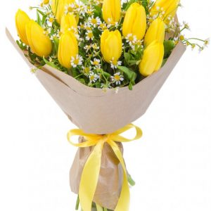Букет «Солнышко» — Букеты цветов