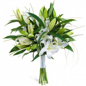 Букет «Нежность» из лилий — Букеты цветов