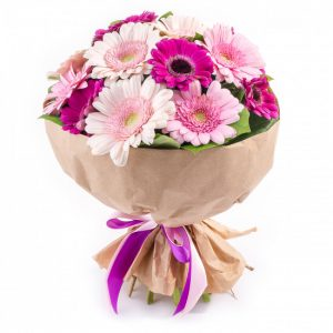Букет из 11 гербер — Букеты цветов