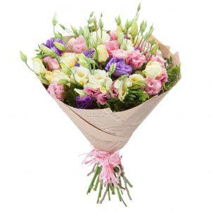 Букет из 15 эустом — Букеты цветов