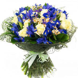 Букет «Синеглазка» — Букеты цветов