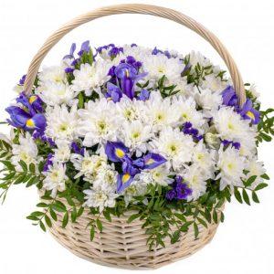 Корзинка Ангела — Букеты цветов