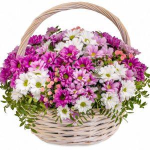 Корзина цветов Радужные сны — Букеты цветов
