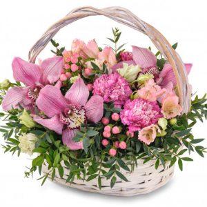 Корзина цветов Сицилия — Бизнес букеты