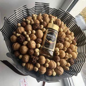 Букет из кофе и орехов — Акции и скидки