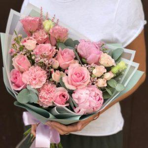 Букет «Розовый Фламинго» — Букеты цветов